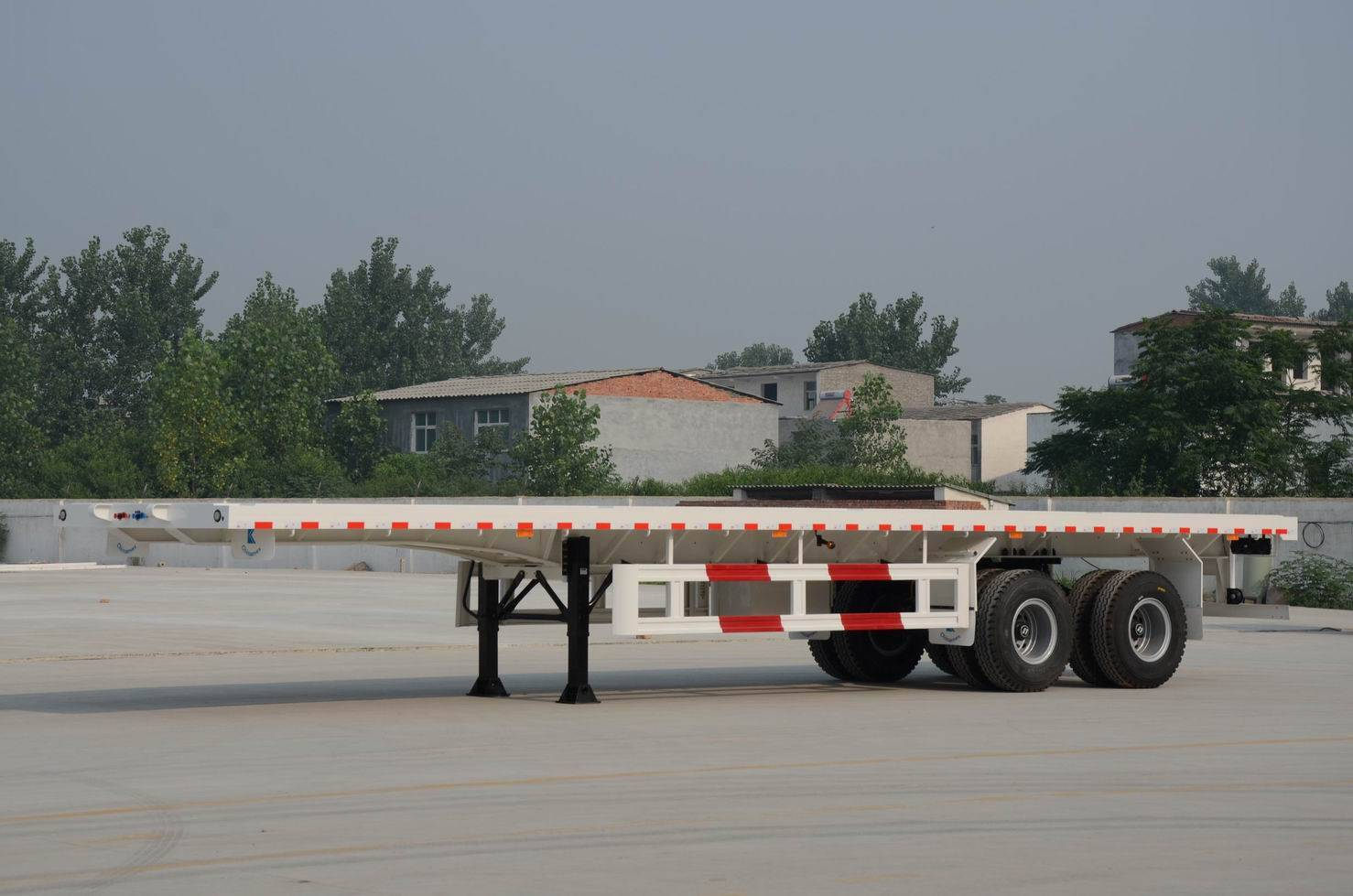 40Ft flatbed container trailer