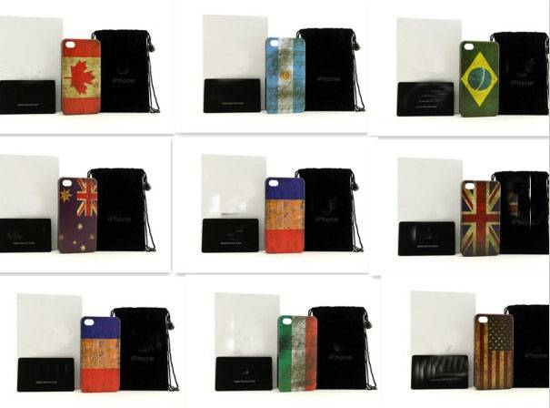 Flag mobilephone iphone 4/4s/5 cellphone case