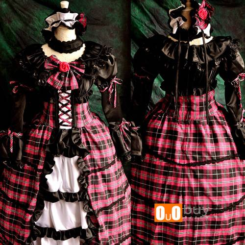 Selling Touhou Gensoukyon Project Komeiji Satori Lolita Cosplay Costume