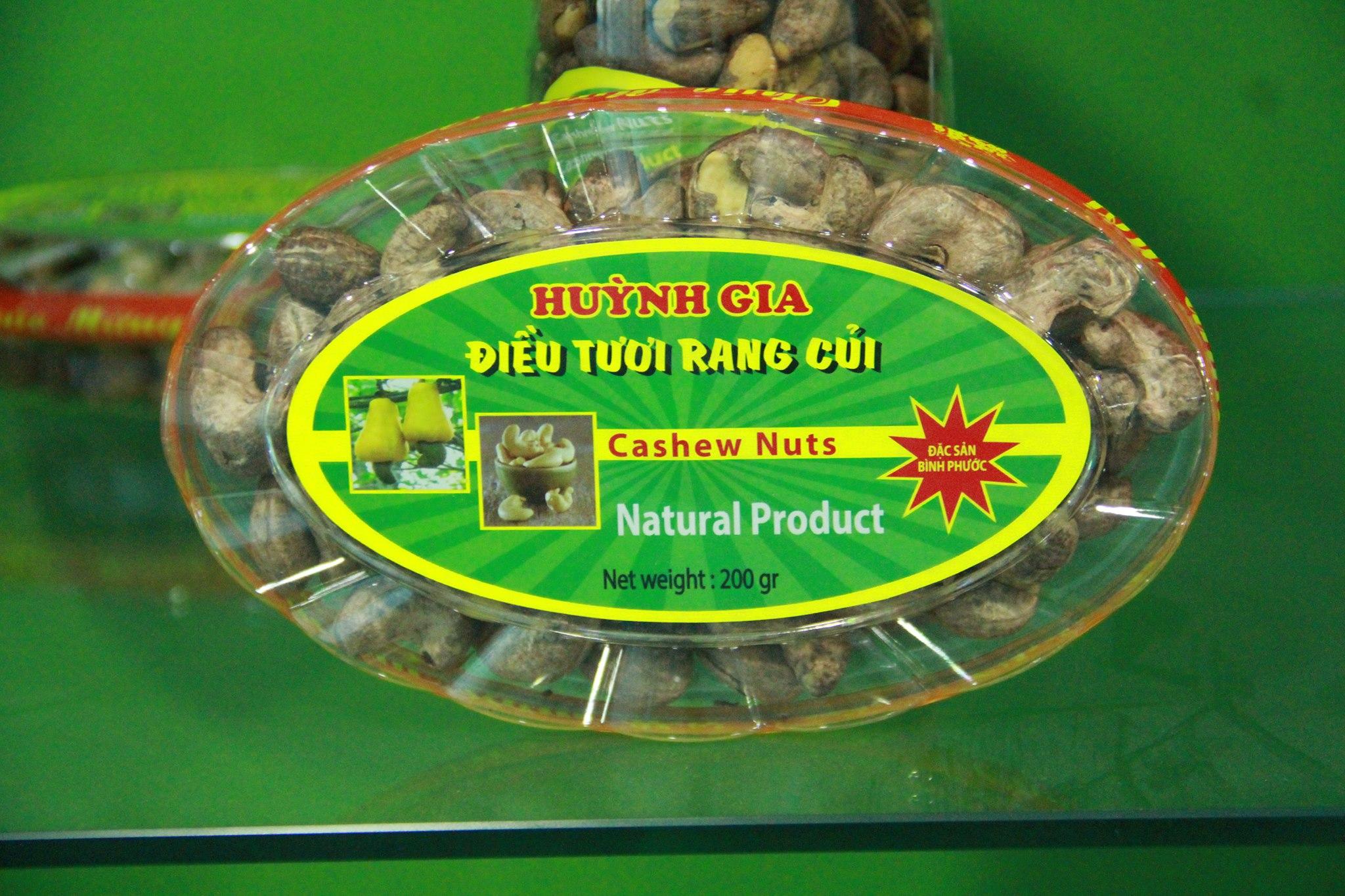 Salted Cashew Nuts Vietnam