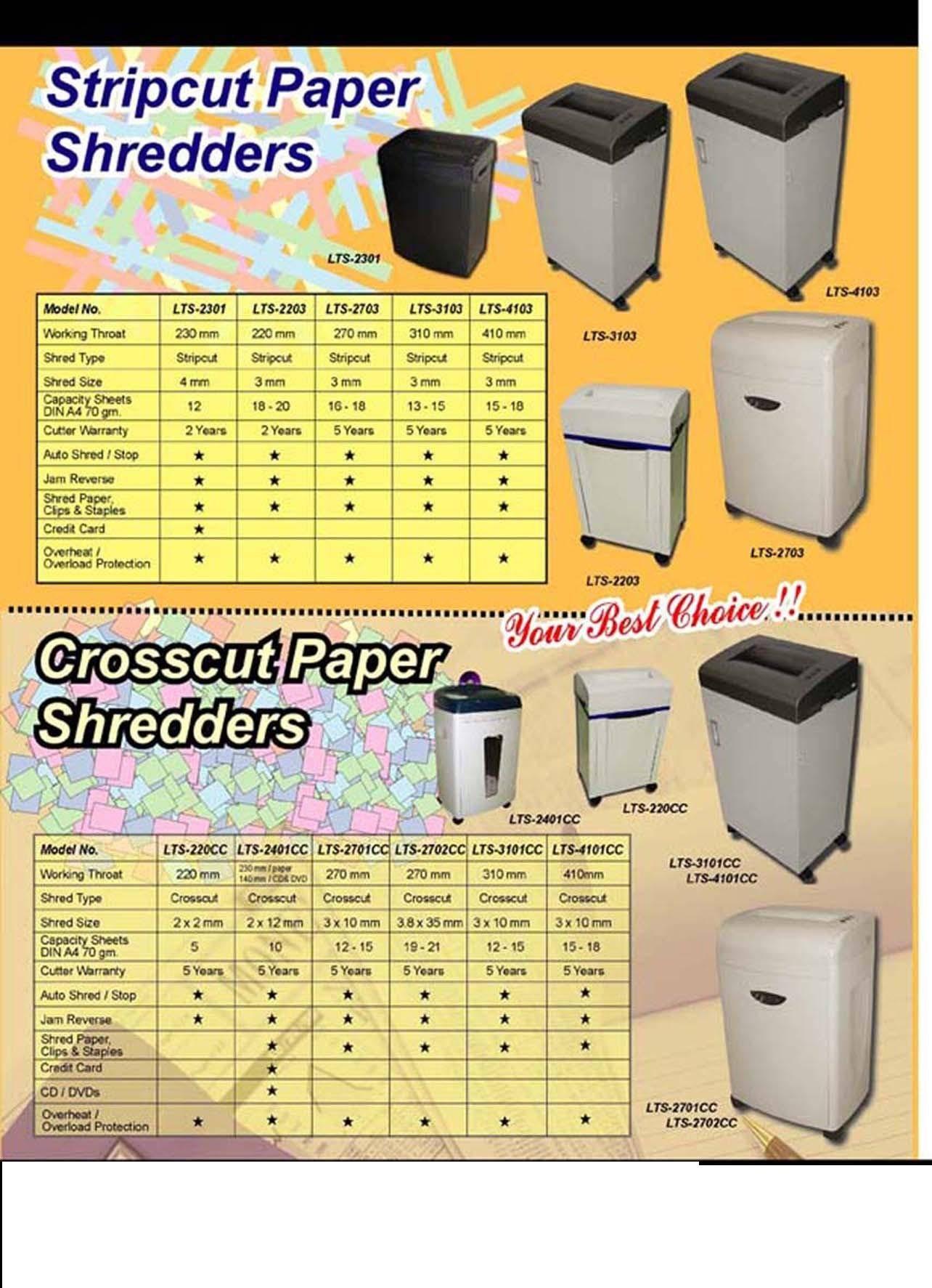 Taros Shredder,Intimus Paper shredder,Hsm Office Shredder,Shredding Services on site