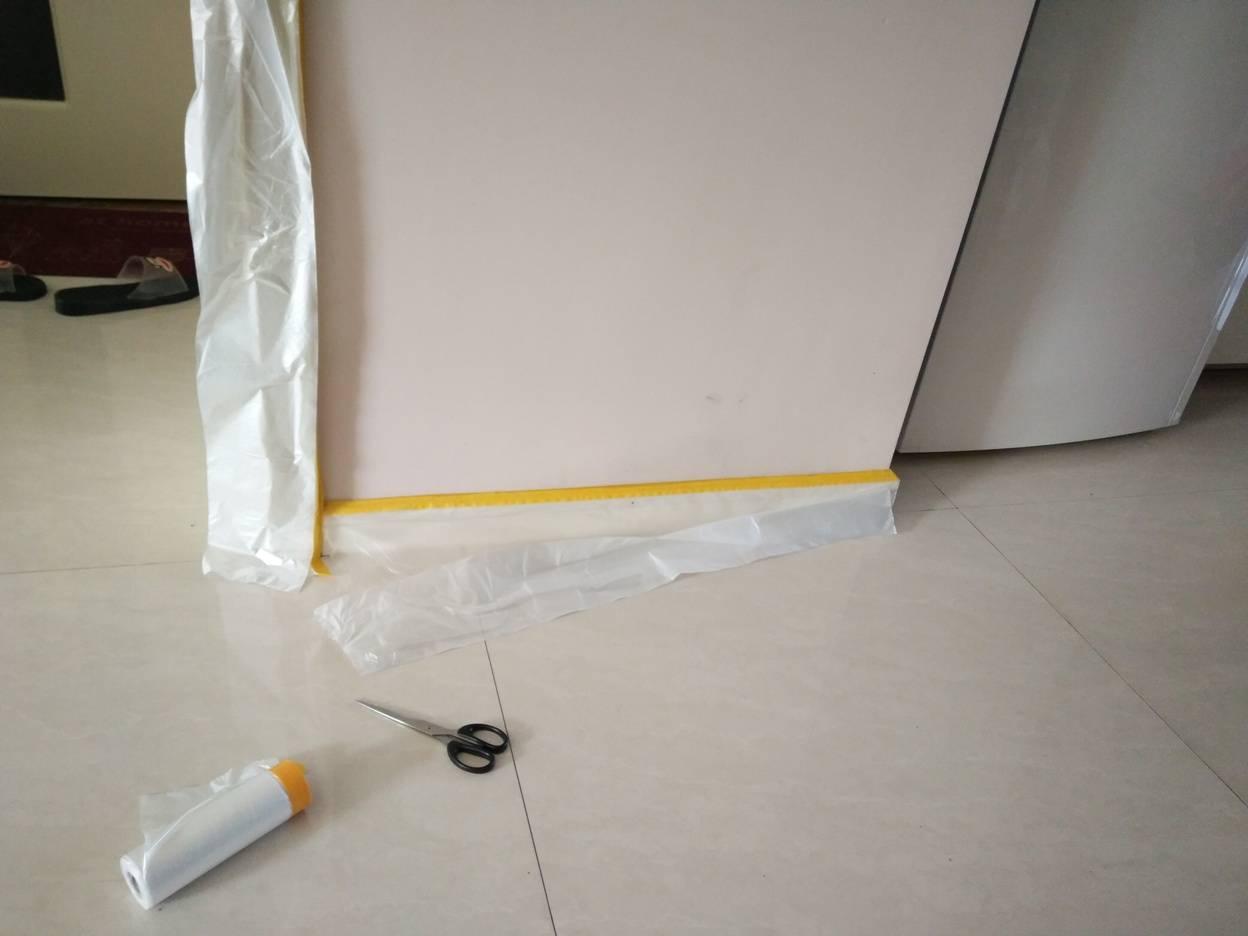 painter's masking plastic film