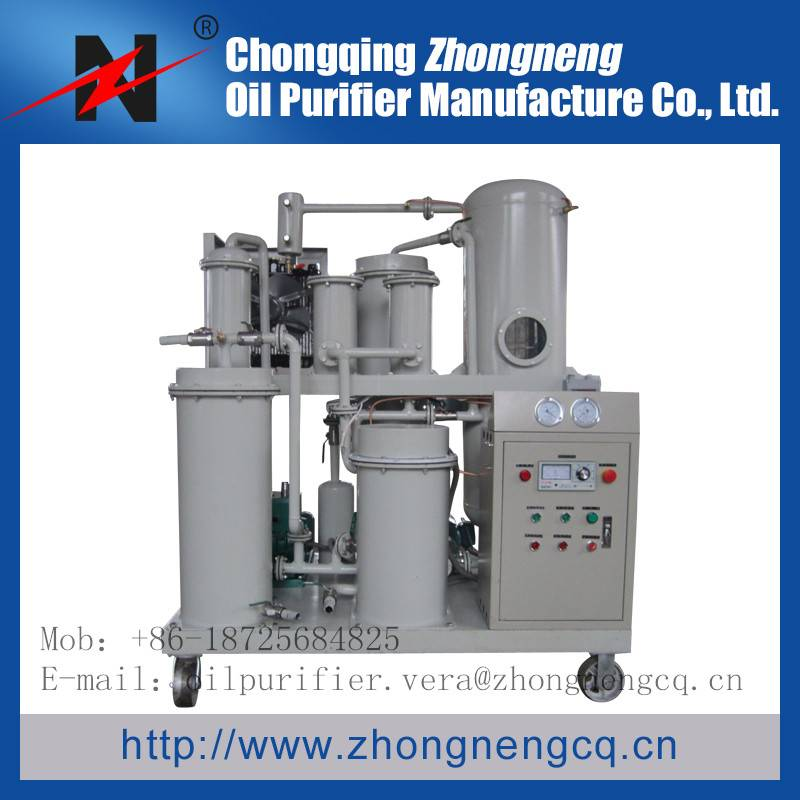 TYA used engine oil filters system/lube oil filtering machine for oil recovery
