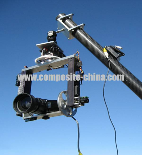 Telescopic Poles Mast ,carbon_fiber_tube_telescopic_camera_mast_pole.china