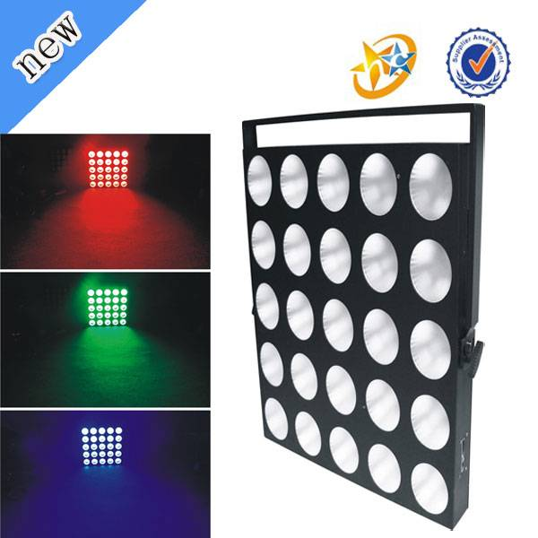 hot sale 25pcs 10w rgb 3 in 1 led matrix light stage lighting