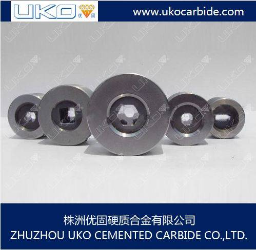 Tungsten carbide wire drawing dies used to die polishing equipment