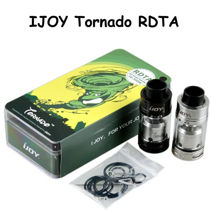2016 IJOY New release Tornado RDA Tank, 5.0ML IJOY Tornado RDTA on stock