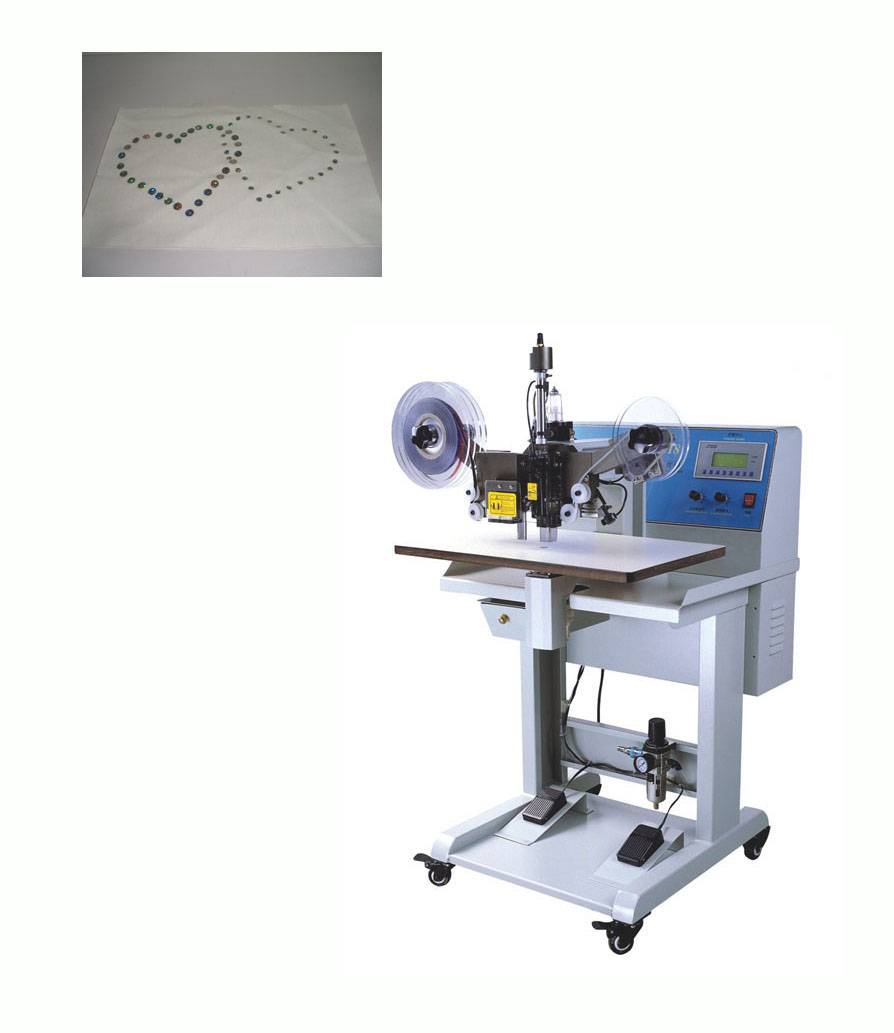 Sell Ultrasonic Sequin Setting Machine (V-218)