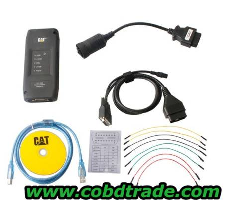 CATIII New Released CAT Caterpillar ET Wireless Diagnostic Adapter With Bluetooth