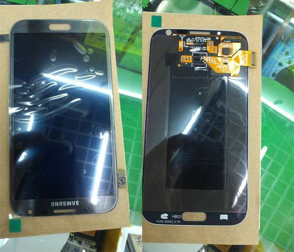 phone LCD Assembly For Samsung Galaxy Note2 N7100
