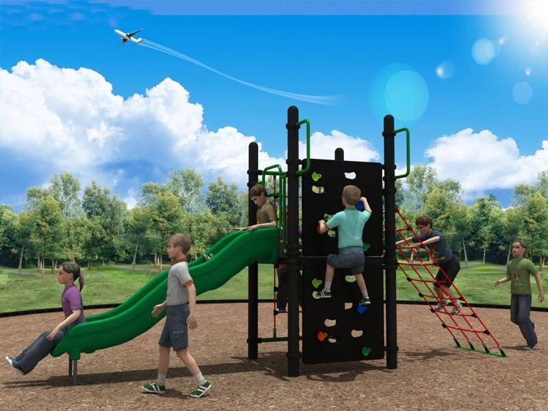 Reliable Reputation Outdoor Playground Equipment Wave Slide for QS Teenager WD-QS006