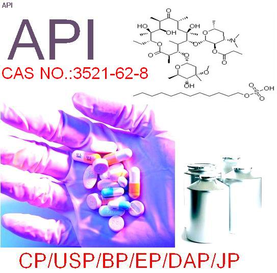 high quality,erythromycin estolate,CAS;3521-62-8