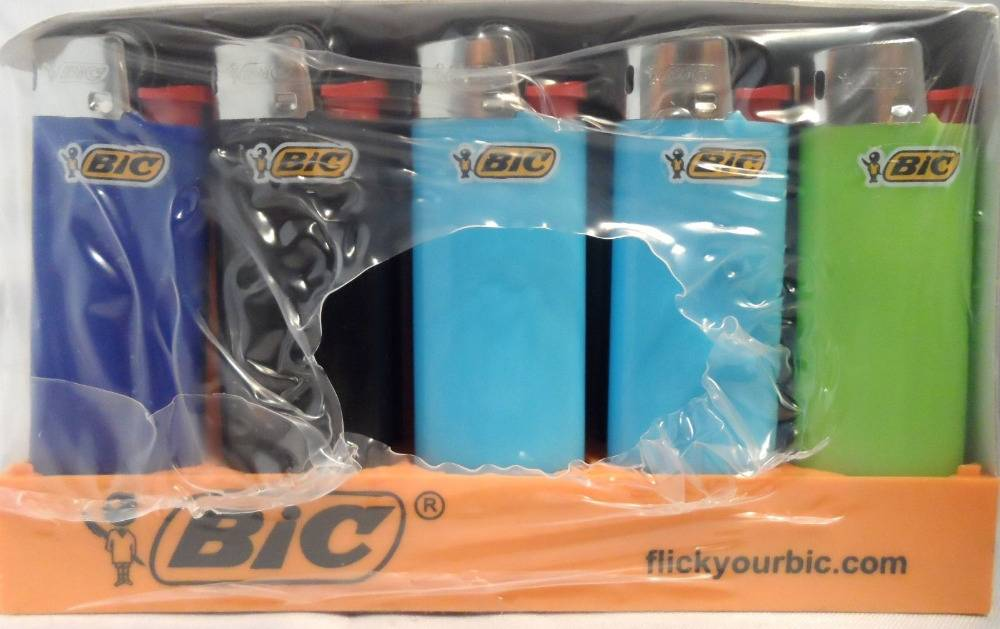 Bic Lighters, Mini Bic Lighters, Maxi Big Lighters, J25, J25 Lighters
