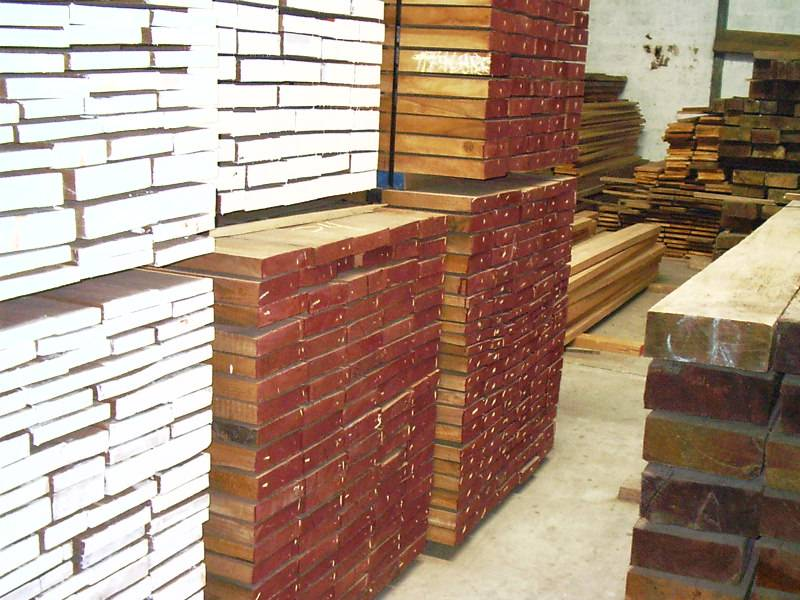 Hardwoods planks and boards