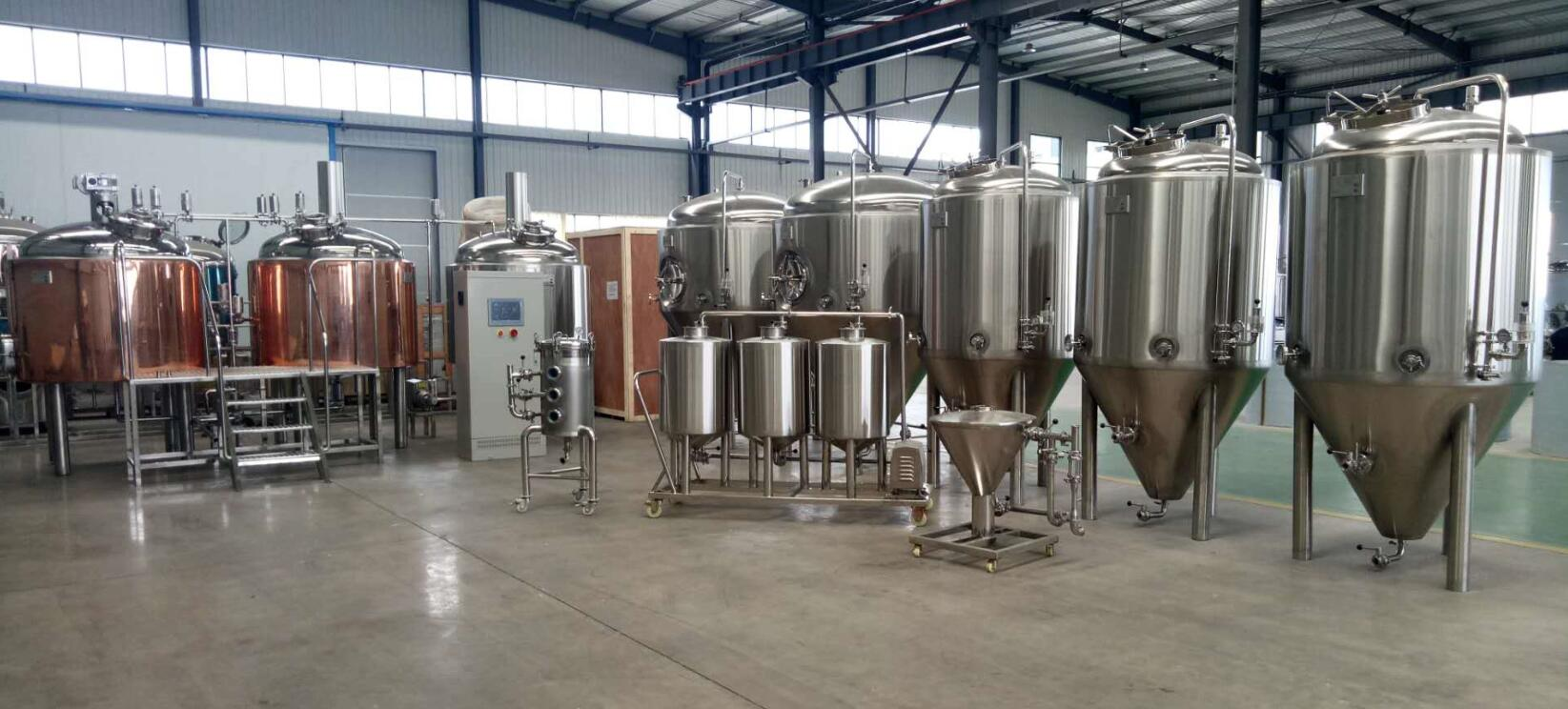 10BBL beer making machine which will be used beer brewery equipment