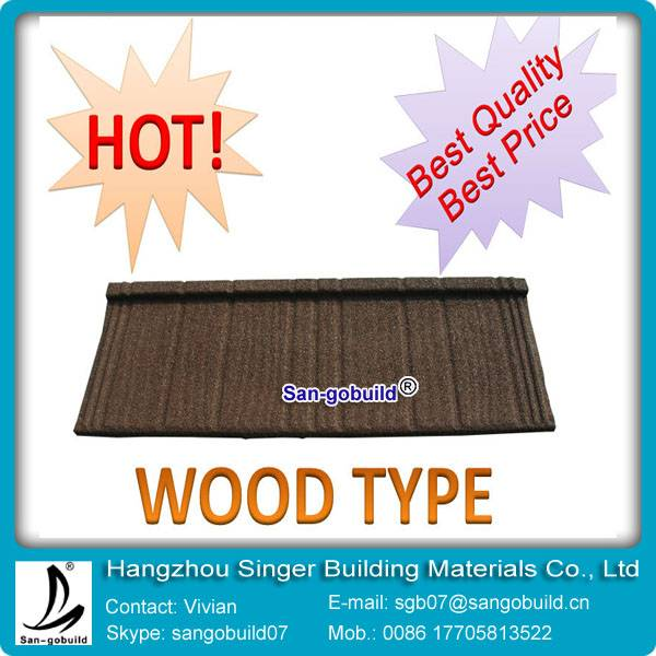 Hot sale stone coated roof metal with roof shingle