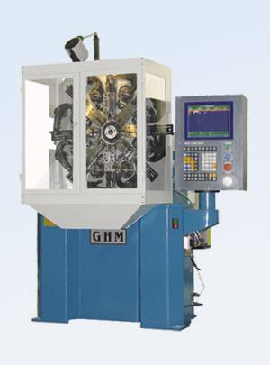 GH-CNC50 universal coiling spring machine