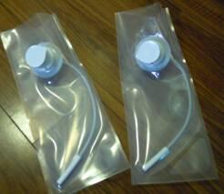 the dialysis Empty Bi bag for fresenius machine care
