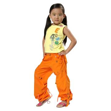 Children's T-Shirt and Pants