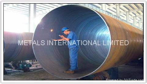 API 5L PSL1/PSL 2,ASTM A252,AS1163,ISO 3183 1/2/3-Spiral Welded Steel Pipe
