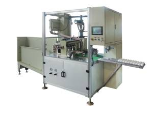 Sealant and adhesive automatic cartridge filling machine