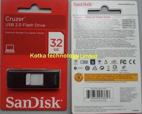 Cruzer USB Flash Drive 32GB