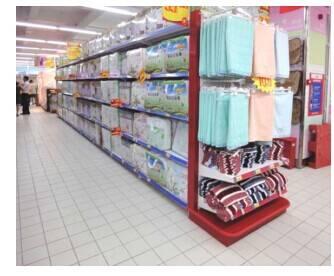 popular display rack for bed sheet