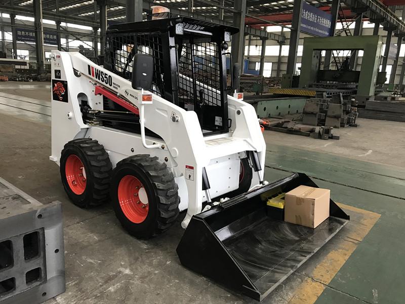 racoon skid steer loader, mini skid steer loader manufacturer in China