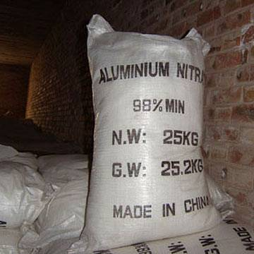 offer aluminum nitrate