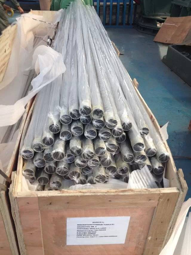 high efficienty Acid solution Heating use Titanium heating pipes