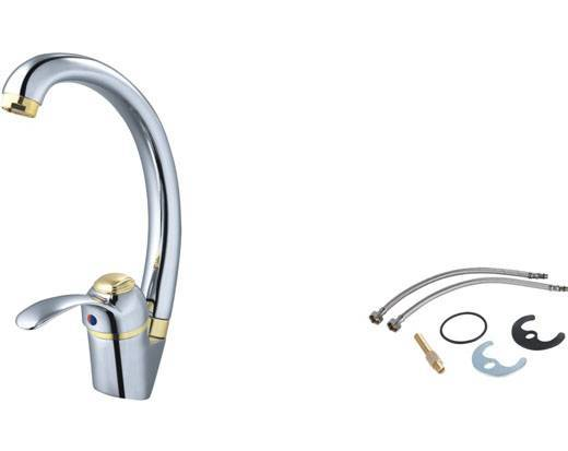 JK101-0302,brass mixer tap,kitchen faucet