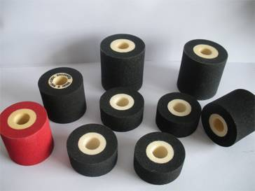 Hot melt ink roll for printing batch