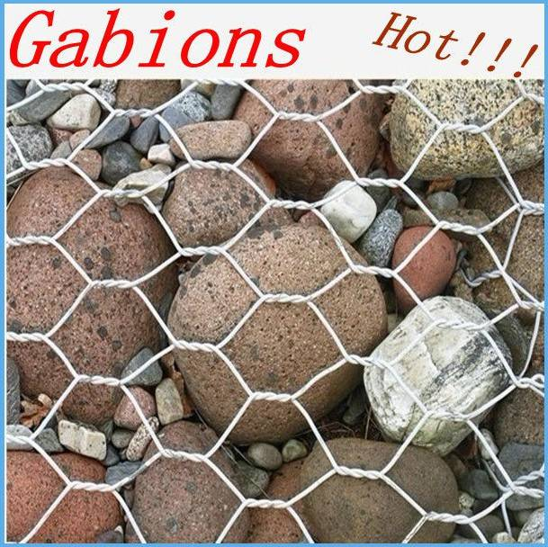 gabion boxs /wire cage rock wall