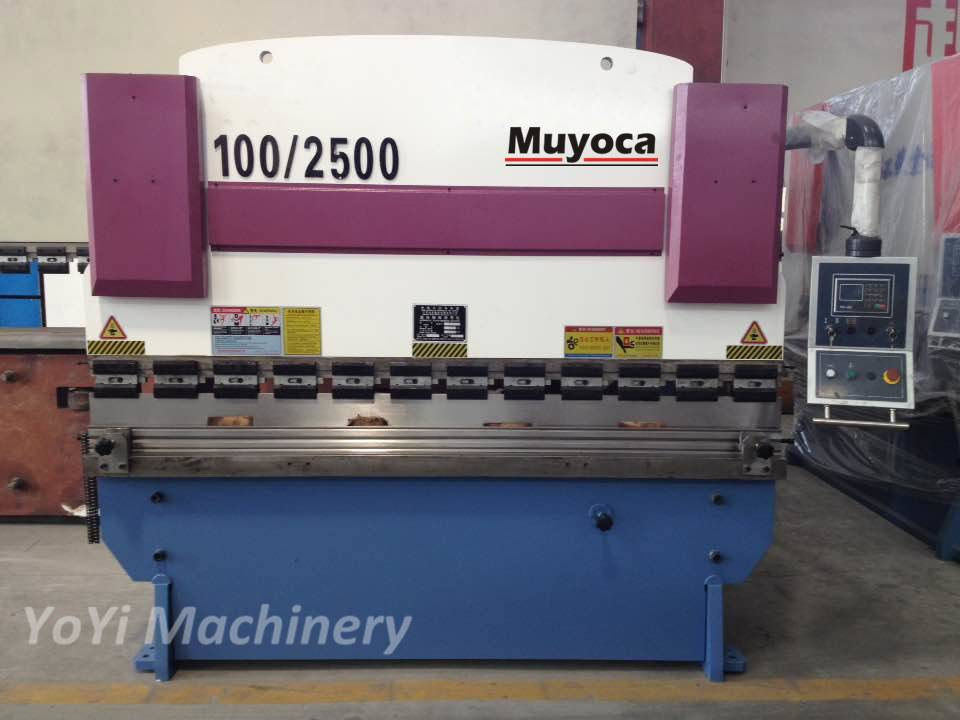 100T/2500mm sheet press brake machine