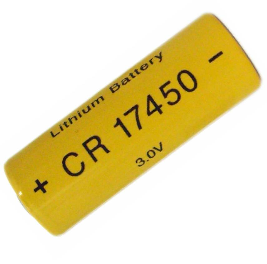 CR17450 3200mAh 3.0V LiMnO2 primary battery