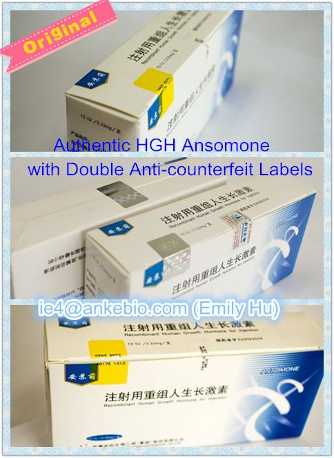Offer Original China HGH Ansomone injection for antiaging, bodybuilding at good price