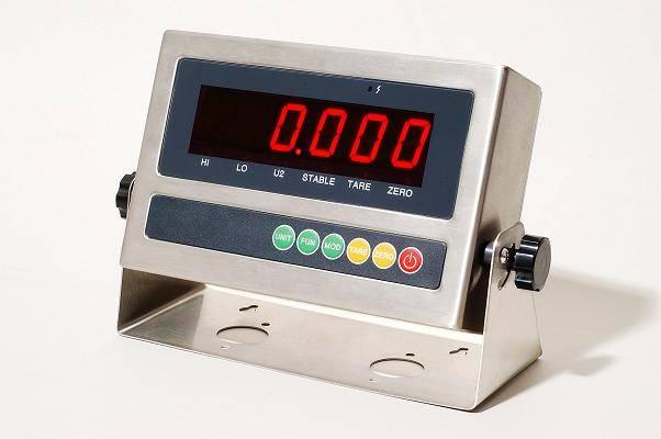 weighing indicator (stainless steel housing)