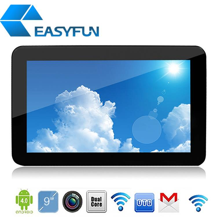 cheap 9'' Tablet PC/MID Allwinner A20 Android 4.2 DDR3 1G RAM + 4G ROM 5-point touch Dual camera