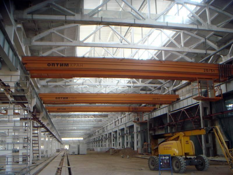 Optim-Crane Double-girder overhead travelling crane