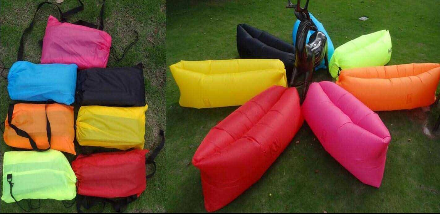 airbed/new sleeping bags
