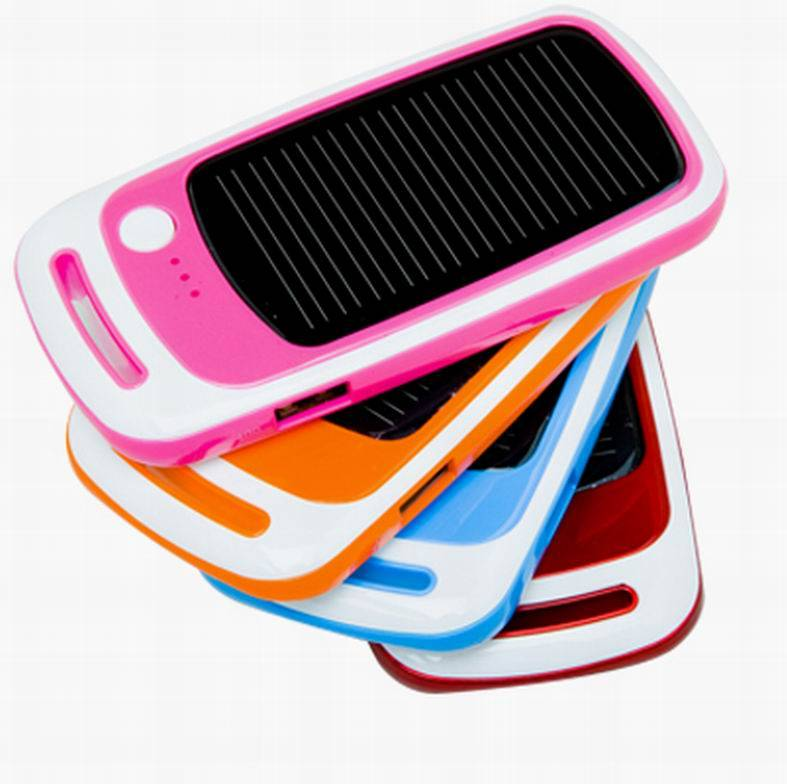 Mini solar charger for mobile charger