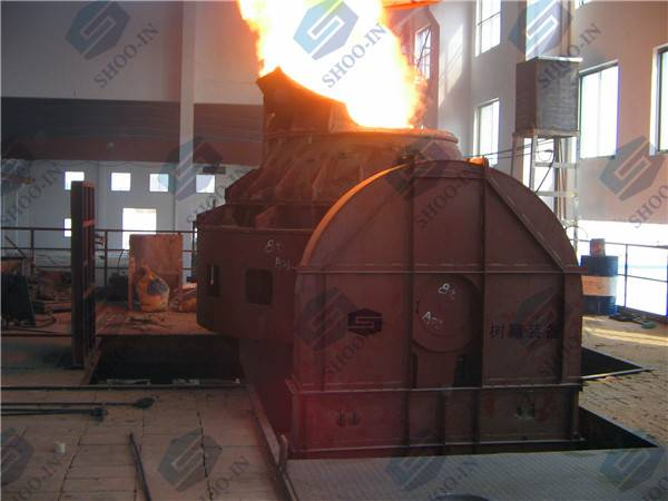 AOD (argon oxygen decarburization )refining furnace