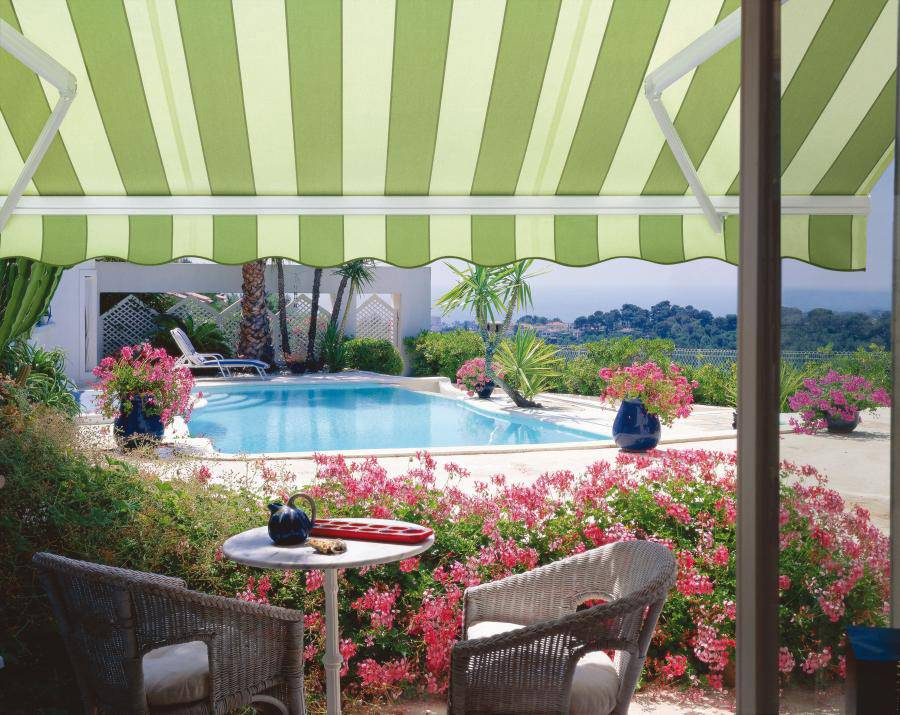 Retractable awning, Half cassette awning,Aluminum half cassette awning