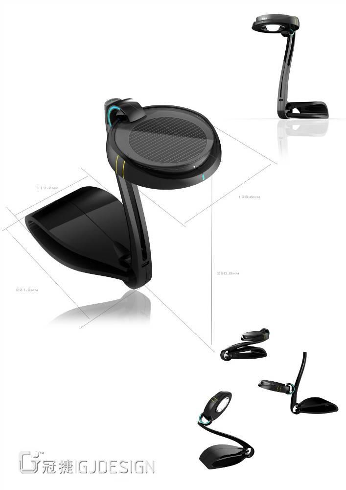 Desk lamp design in shenzhen