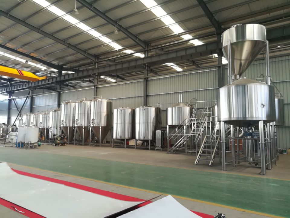 small model 3000l beer brewing equipment/pubs/brew kettle system