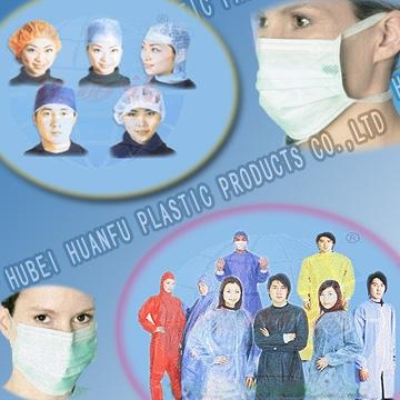Non-woven Surgical Gowns, Lab Coats, Isolation Gown, Medical Gown, Coverall, Disposable Clothing