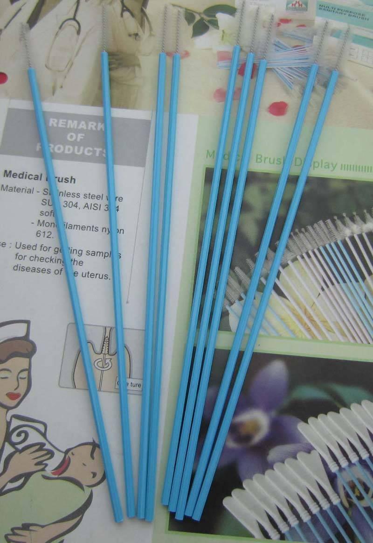 medical brush cytology brush cervix brush