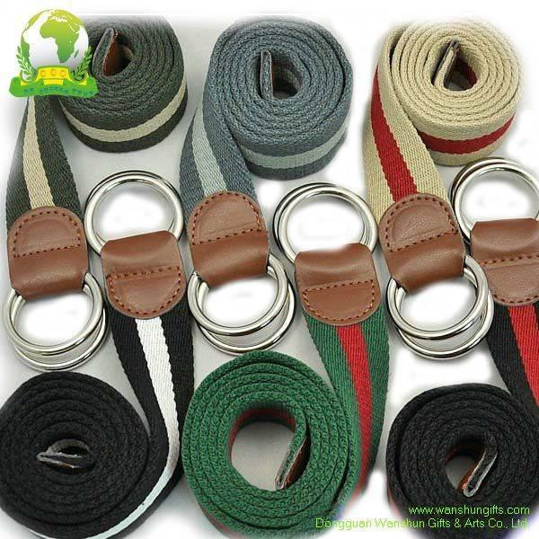 Selling Waist Belt with Silk Screen Printing Logo