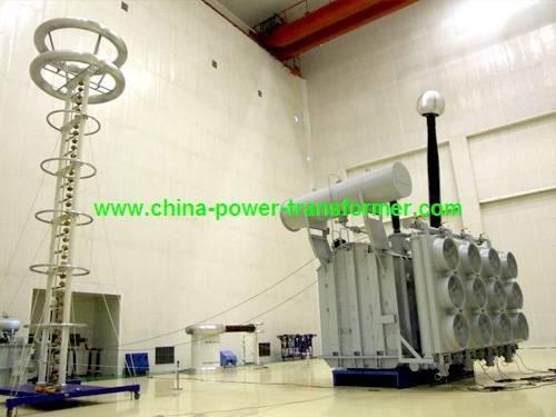 500kV Single Phase Oil-immersed Power Transformer