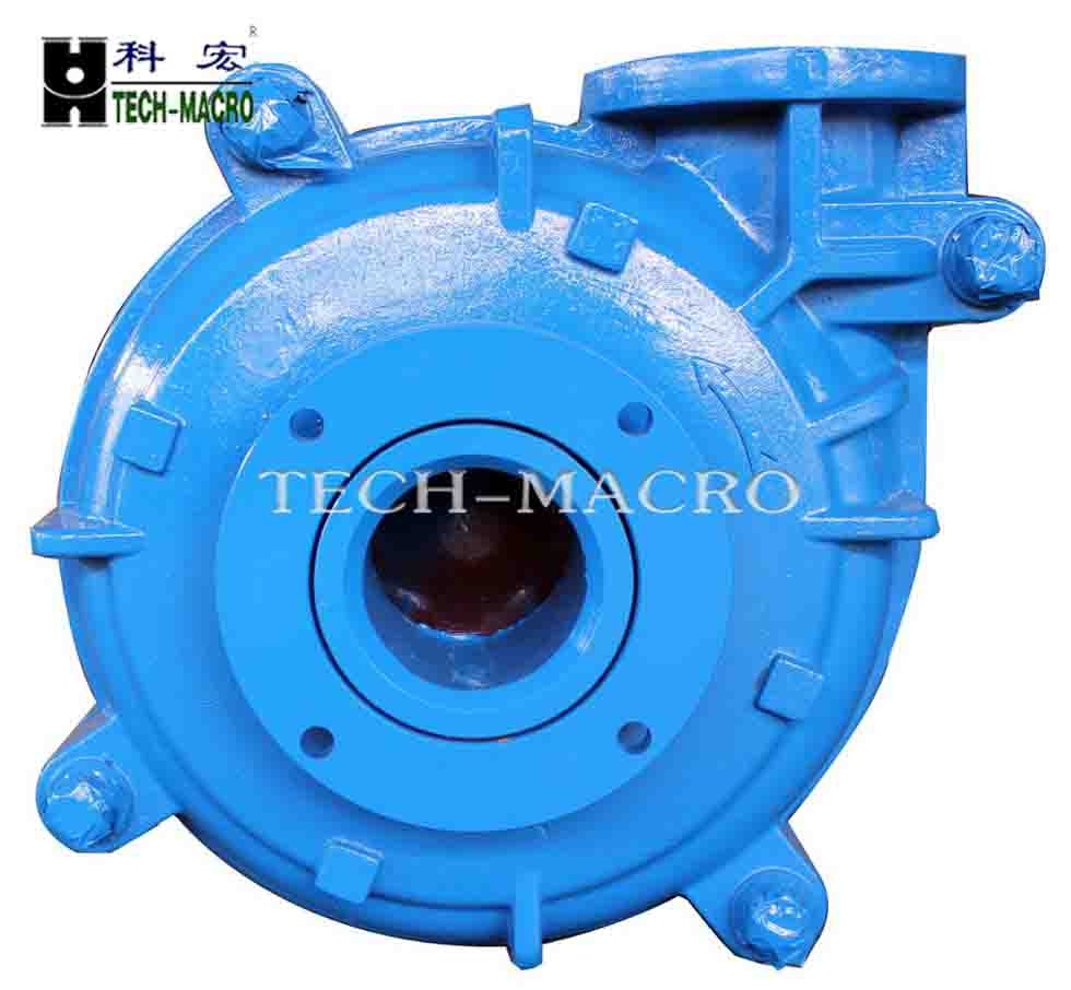 Hard metal hydraulic Slurry Pump 4 inch with flushing water mechanical seal centrifugal pumps